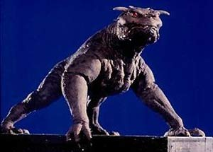 Figure 5: Zuul, The Gatekeeper, from Ghostbusters.