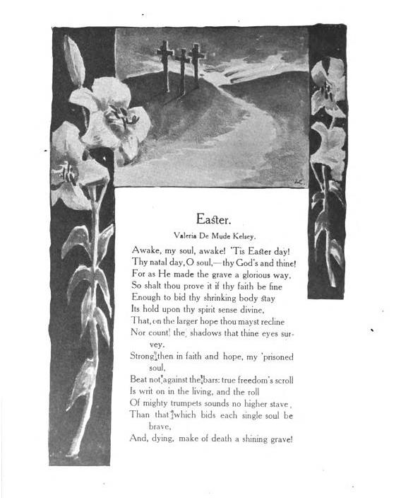 KelseyVdM Easter poem YWJournal v19n4p150 1908Apr