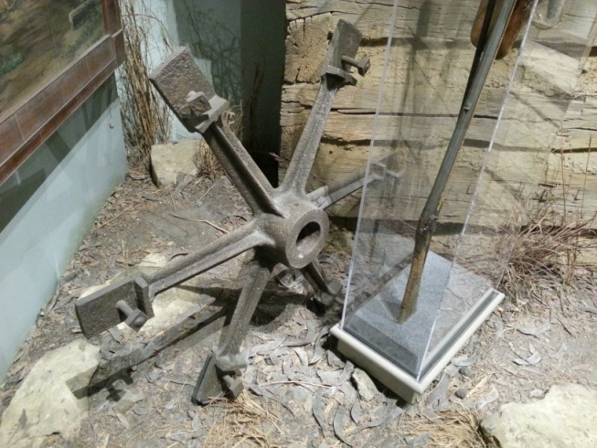 CHM Haun's Mill wheel