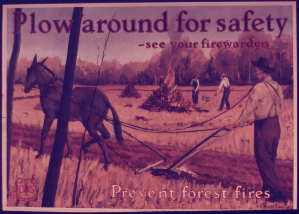 PLOW_AROUND_FOR_SAFETY..._SEE_YOUR_FIREWARDERN..._PREVENT_FOREST_FIRES._-_NARA_-_515191